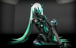 Carbon girl by RiStarr