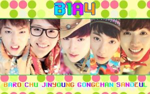 B1a4 wallpaper ver 1 by KpopGurl