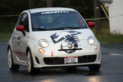 Fiat 500 Abarth by D-Miles