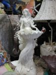 Mermaid Statue 1 by Nightmare247Stock