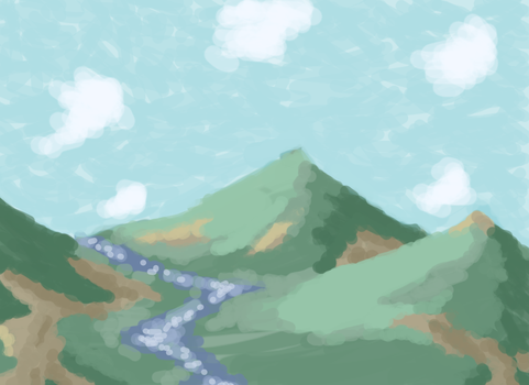 Plain Ol' Mountains by Squidmissile