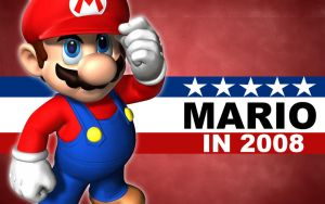 Mario for President by cotrackguy