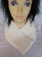 Hand-knitted Scarf  Neck Warmer  Wrap  Cowl by MagicalString