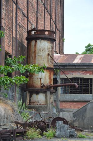 Old water citern in abandonned factory by A1Z2E3R