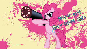 mlp:fim I'm ASSAULTING HIM WITH CAKE by emeralddarkness