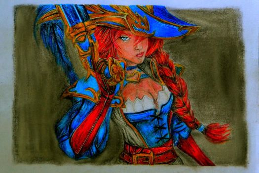 Miss Fortune by hanyasys