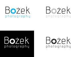 Logo for Bozek photography by niobe-pro