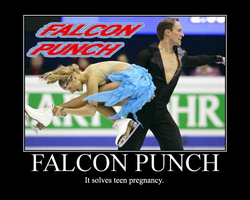 Falcon Punch by AngryFlashlight