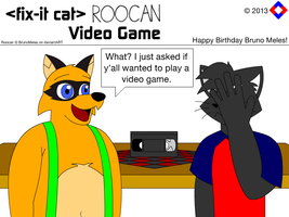Fix-It Cat / Roocan - Video Game by NS-Games