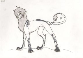 Lion by ChesireHats