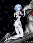 AT: Rei Ayanami by blackcat76