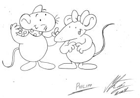 Philipp Mouse  -  Philipp die Maus by MortenEng21