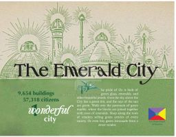 Emerald City (travel poster) by ashley-f