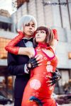 Anna and Lee Tekken by maya-misare