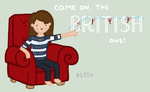 Shouting at the TV... by LetsSaveTheUniverse