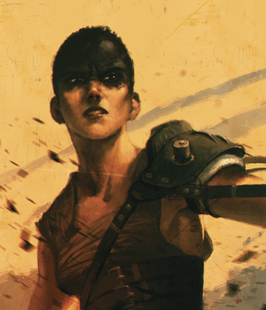 Sketch_Dailies: Furiosa by giorgiobaroni