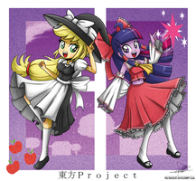 .:Touhou Girls:. by The-Butcher-X