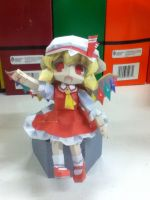 paper craft Flandre by jazzy1lol