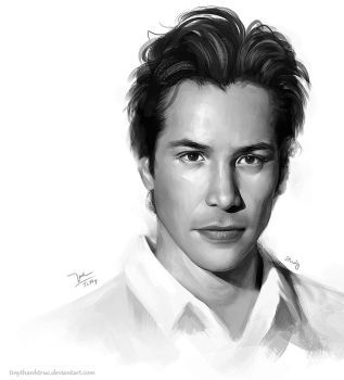 Keanu Reeves [study] by TiNyThanhTruc