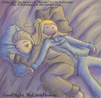 GoodNight,MyLittleHeretic... by LittleLadyPunk
