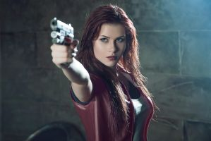 Claire Redfield Afterlife by Margarita-Richie