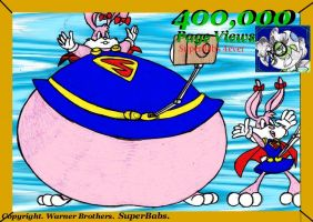 400,000 PageViews. Superbabs. by Virus-20
