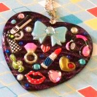 A Girls Way Resin Necklace by prheat