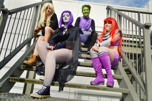 Teen Titans Squad by Catulus-Cosplay