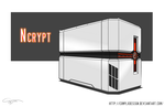 Ncrypt -Concept Computer Case- by ComplxDesign