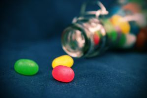 Bottle of Jelly Beans by JC-790514