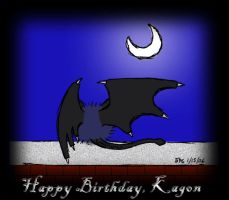 Birthday Kagon by Billiamthe3rd