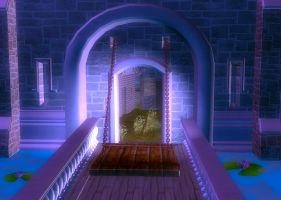 Drawbridge Background by Lil-Mz