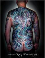 Biomechanic Backpiece by mcr-raven