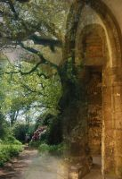 Tree and Archway by YetiFungus