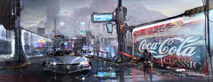 SF concept by artcobain