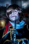 Capitan Harlock in a distopic future by Kura-Kitsune