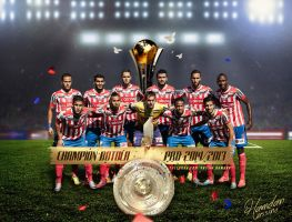 Atletico Tetuan Champion BOTOLA Pro 2013/2014 by Hamdan-Graphics