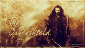 Thorin Wallpaper 2 by HappinessIsMusic