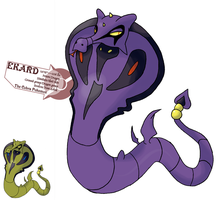 Muthafuckin snakes on my page by G-FauxPokemon