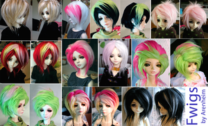 Wig Compilation by Arenheim