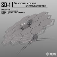 Dragonfly class Star Destroyer by Zaslon