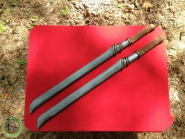 LARP Elven swords by DragonSkinLarp