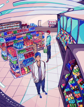 convenience store by kyunyo