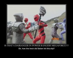 Power Rangers Megaforce Demotivational by Technomaru