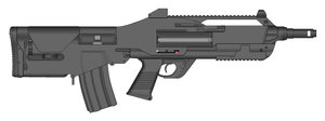 M55 Assault rifle by GunFreakFin