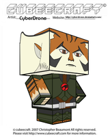 Cubeecraft - Tygra '2011' by CyberDrone