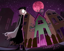invader zim by ohthree