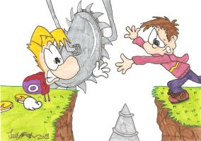 Danny and Rayman to the Rescue by Jamesf5