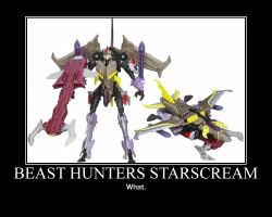 Beast Hunters Starscream by Onikage108