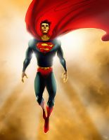 Superman by rocom
